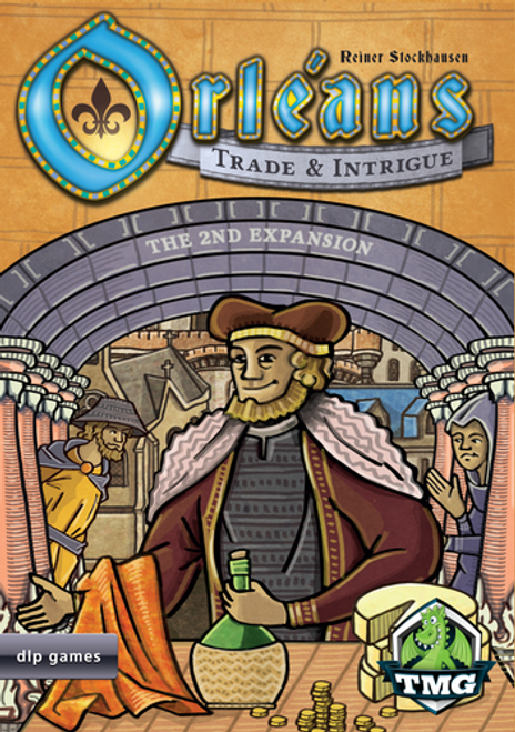 Orleans - trade & Intrigue - Board Game Expansion  #2 - Tasty Minstrel Games