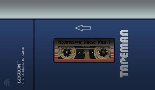 "Legion Supplies - 24"" Playmat - Cassette Tape"