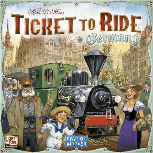 Ticket To Ride - Germany - Board Game - Days of Wonder