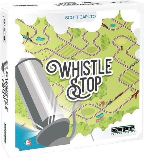 Whistlestop - A Fun Trains Board Game - Bezier Games