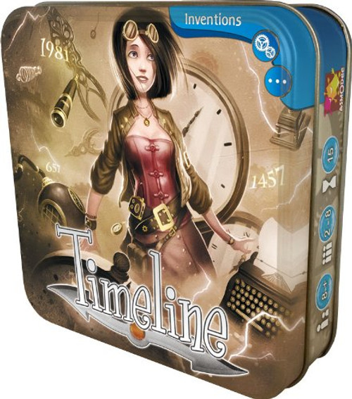 Timeline - 1 - Inventions - Asmodee Games
