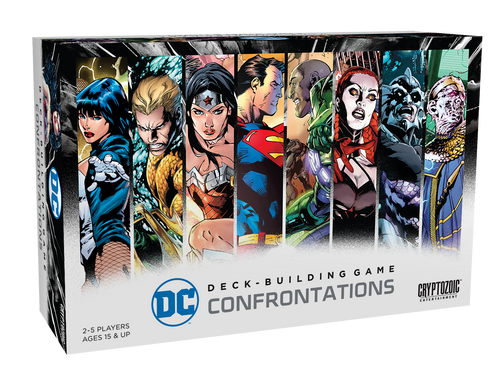 DC Comics Deck Building Game - Confrontations - Cryptozoic Entertainment