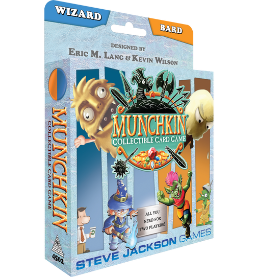 Munchkin Collectible Card Game: Wizard/Bard Starter Season 1