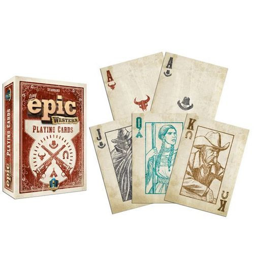 Tiny Epic Western - Playing Cards - Gamelyn Games