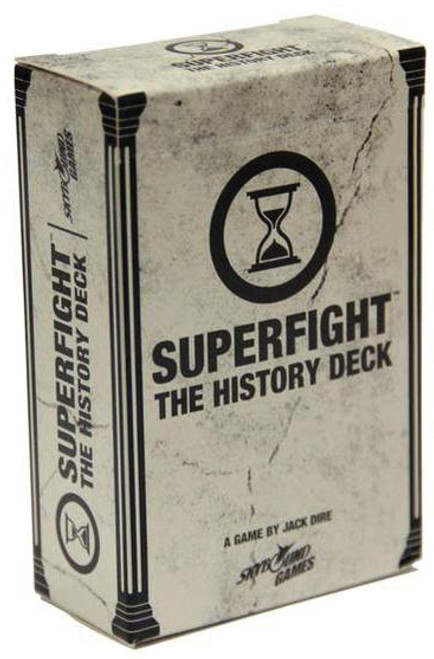 Superfight - The History Deck - Card Game - Skybound
