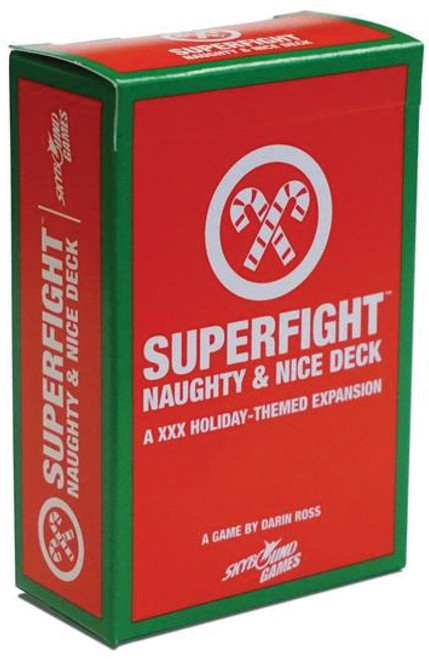 Superfight - The Naughty & Nice Deck - Card Game - Skybound