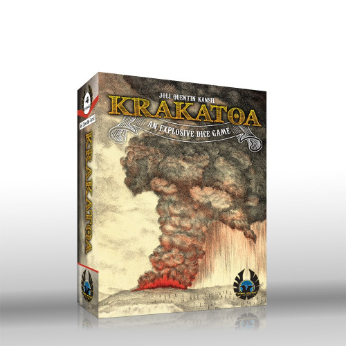 Krakatoa - A Volcanic Dice Game - Eagle Gryphon Games