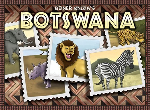 Botswana - A Board Game of Africa - Eagle-Gryphon Games