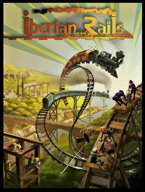 Iberian Rails - Kickstarter Edition - Monsoon Publishing