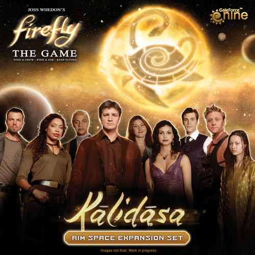 Firefly - The Game - Kalidasa Rim Space Expansion - Gale Force 9