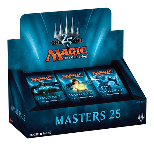 Magic the Gathering - Masters 25 - 1993-2018 - Booster Packs - Wizard of the Coast