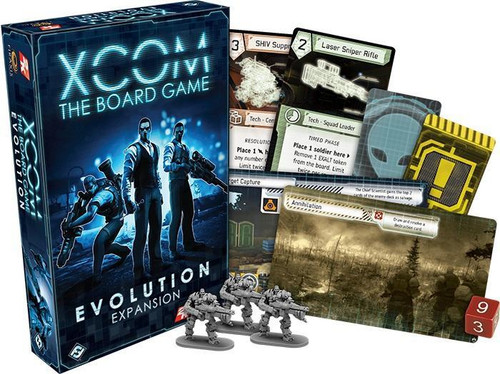 XCOM - The Board Game - Evolution Expansion - Fantasy Flight Games