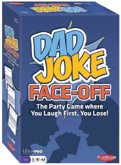Dad Joke Face-off - First to Laugh Loses! - Family Game - Playroom