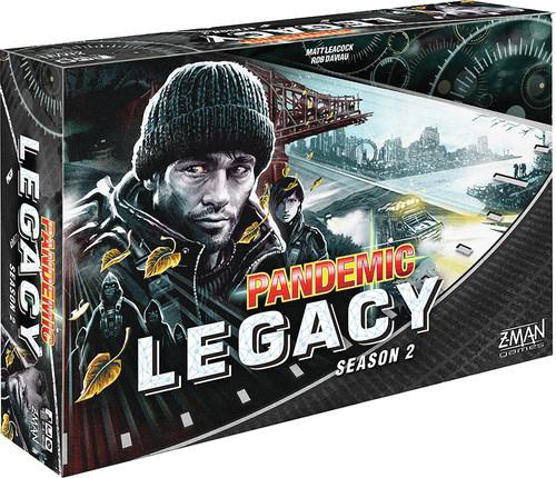 Pandemic - Legacy - Season Two - Black - Z-Man Games