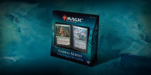 Magic the Gathering - Global Series Deck - Jiang Yiangg vs. Mu Yanling - Wizard of the Coast