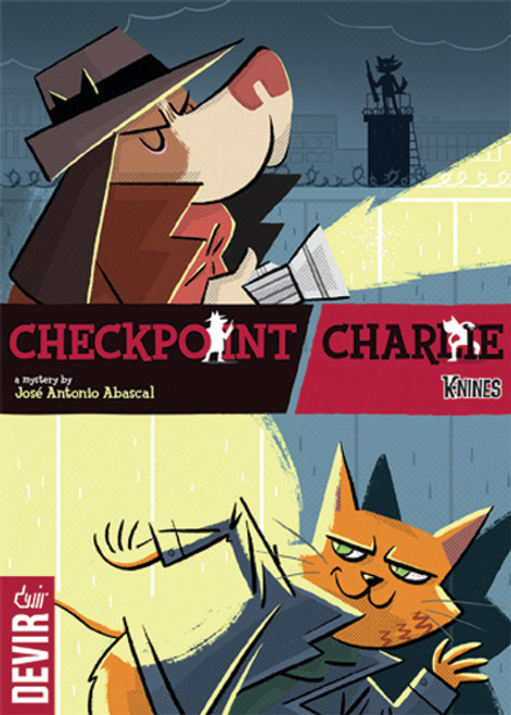 Checkpoint Charlie - A Detective Mystery for 2-4 Players - Devir Games