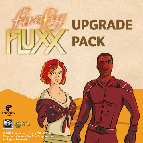 """Firefly Fluxx - """"Upgrade"""" - Expansion Pack - Looney Labs"""