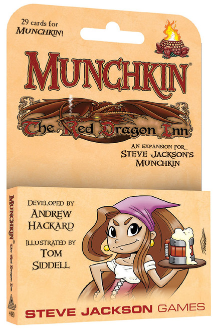 Munchkin: The Red Dragon Inn expansion