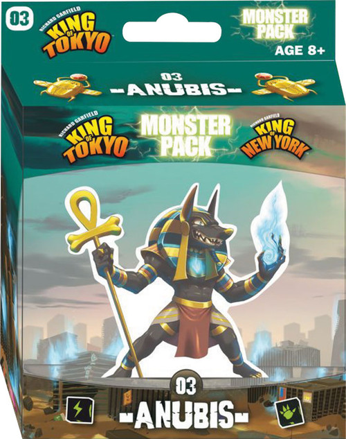 King of Tokyo/New York - Anubis - Monster Pack Expansion #3 -  IELLO Games