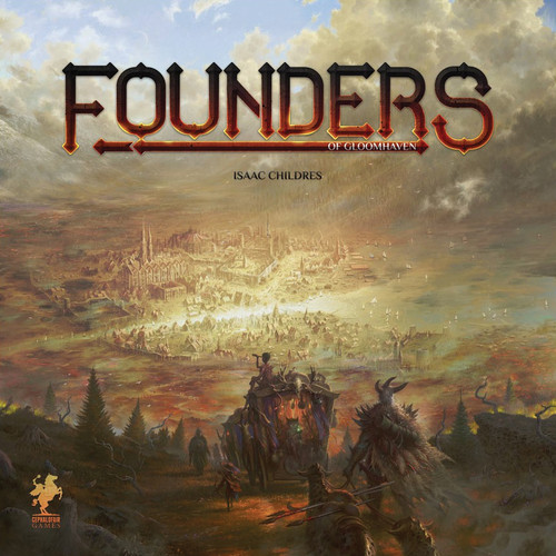 Founders of Gloomhaven - Board Game - Cephalofair Games