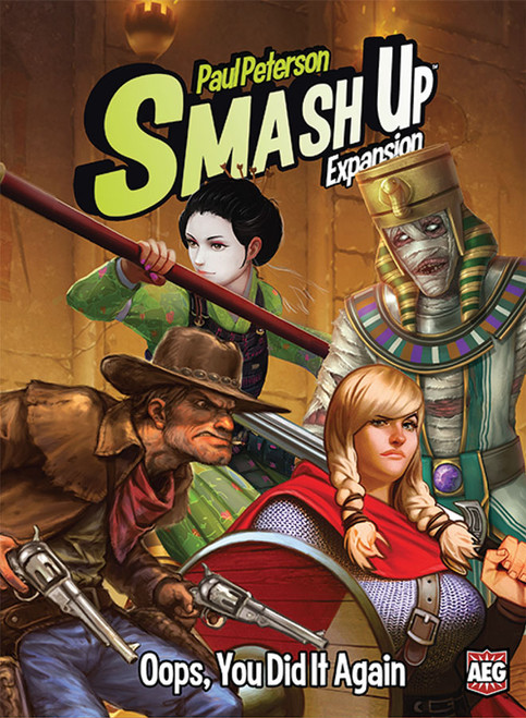 Smash Up Expansion #14 - Oops, You Did It Again - Card Game - AEG