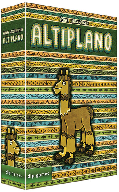 Altiplano - A Board Game of High Plains and Llamas -  Renegade Games