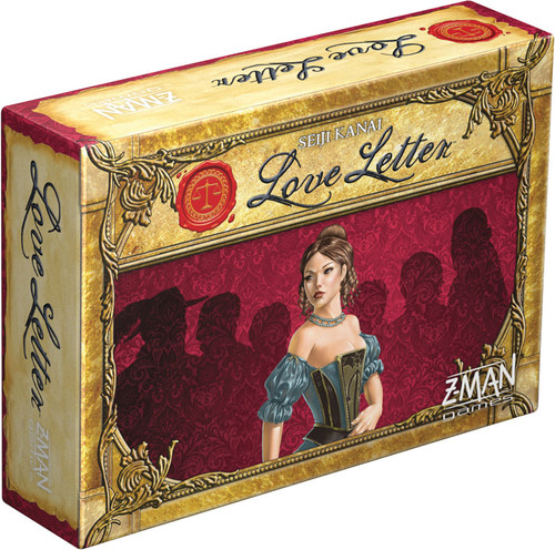 Love Letter - Court the Royal Princess of Tempest - Card Game- ZMan