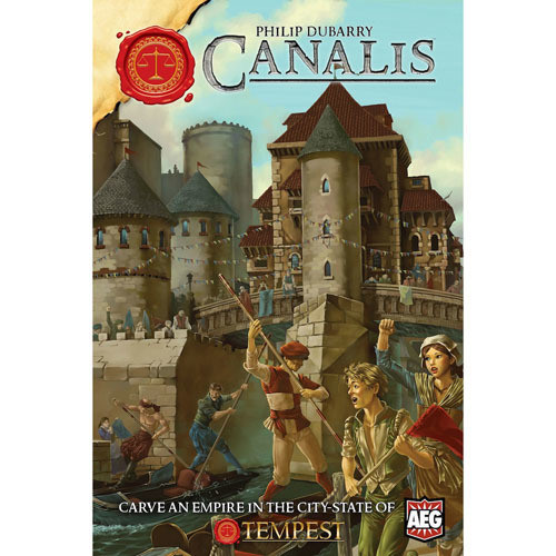 Canalis - Resource Management Card Game - AEG