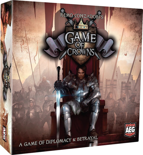 Game of Crowns - Card Game - AEG