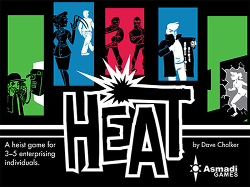 Heat - the Card Game - Asmadi  Games
