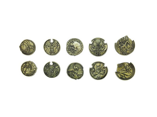 "Norse Foundry - Adventure Coins - Variety Pack  (Set of 10) ""Orc and Goblins"""