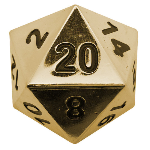 "Norse Foundry - Dead Man's Gold - 1 x 45mm D20 Dice ""The Boulder"""