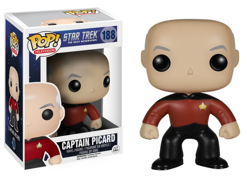 POP! Vinyl Figure - TV #188 - Star Trek - The Next Generation - Captain Picard