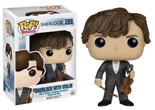 POP! Vinyl Figure - TV #289 - Sherlock - Sherlock with Violin