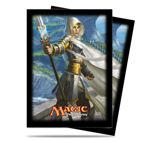 "Ultra Pro Deck Protector  - Standard Size Card Sleeves - 80 Count - MAGIC ""Theros Elspeth"" - OUT OF PRINT"