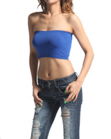 Tube Top Bandeau - Cobalt Blue