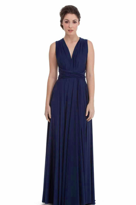 Maxi Convertible Dress - Navy