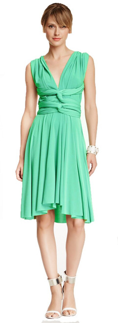 Short Convertible Dress - Mint