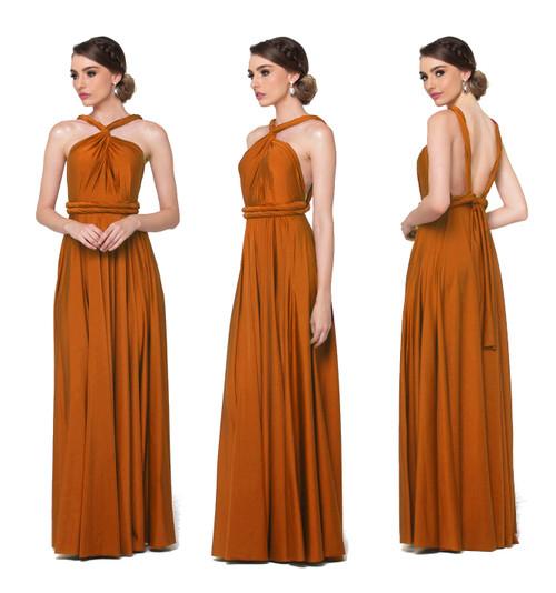 Maxi Convertible Dress - Amber