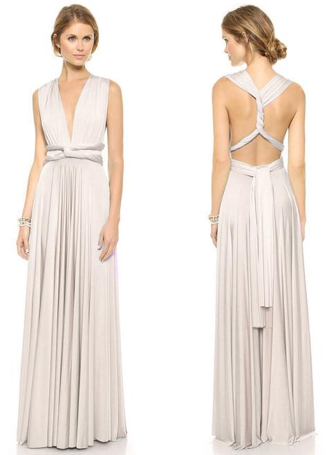 Maxi Convertible Dress - Ivory