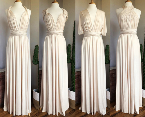 Maxi Convertible Dress - Ivory