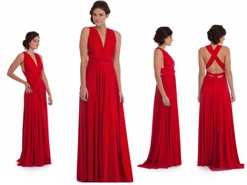 Maxi Convertible Dress - Vixen