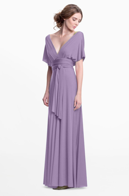 Maxi Convertible Dress - Dusty Lavender