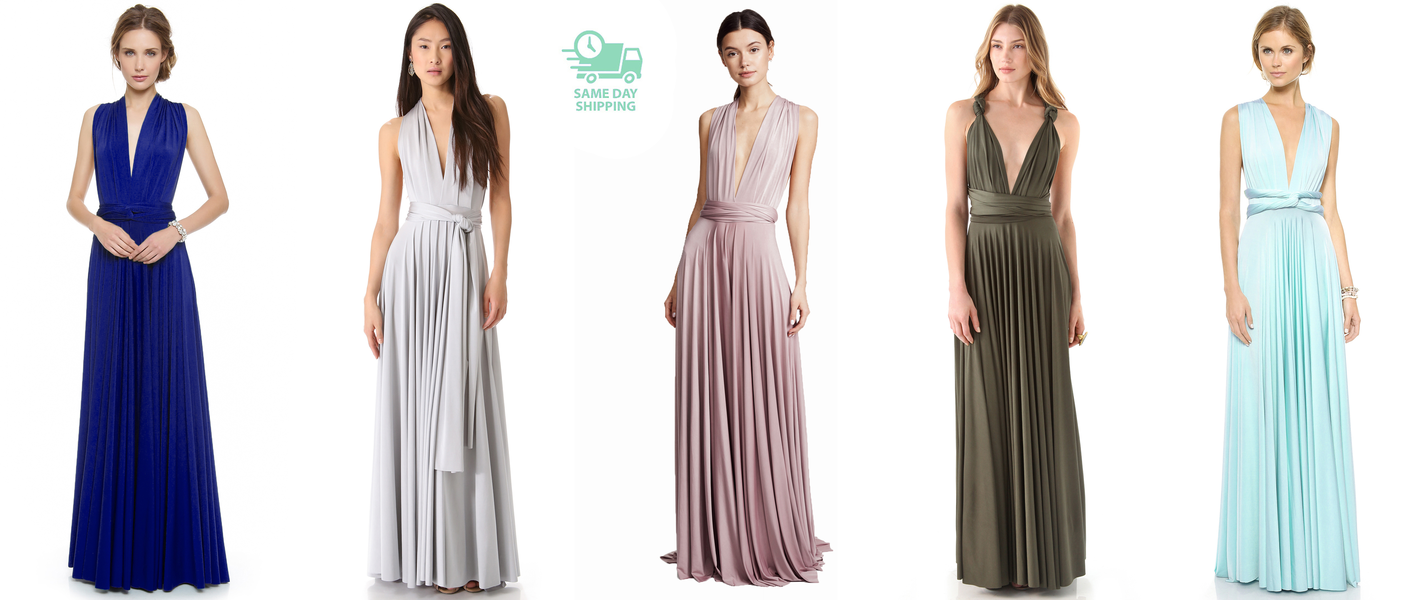 dca2214b5aae0 Convertible Wrap Dress