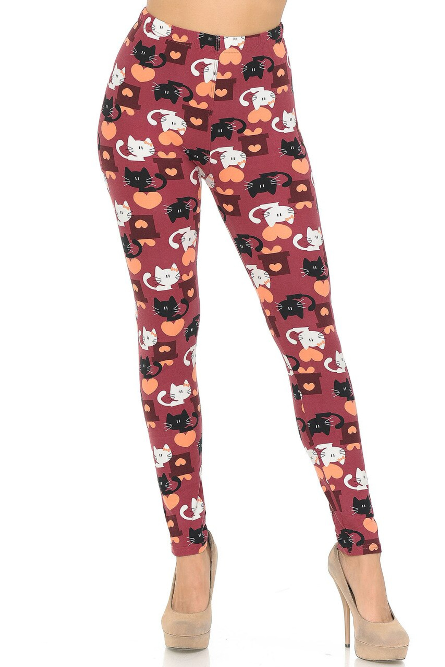 Lovable Kitty Cats Buttery Soft Leggings