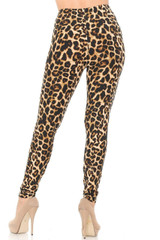 Buttery Soft Bold and Beautiful Leopard Plus Size Leggings