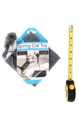 Mouse Spring Cat Toy with Base