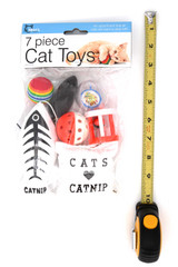 7 Piece Cat Toy Set