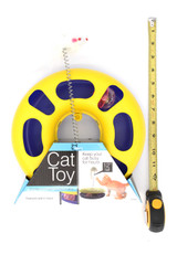 Ball Track Cat Toy with Mouse on a Spring