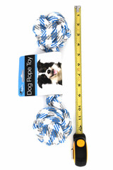 Large Double Knotted Dog Rope Toy Ruler